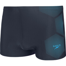 speedo Tech Placement Aquashorts Men tech true navy/pool
